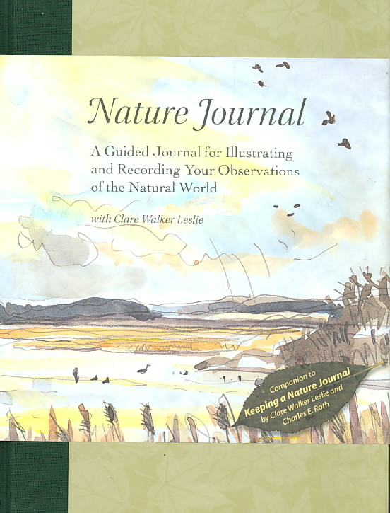 Nature Journal By Leslie, Clare Walker